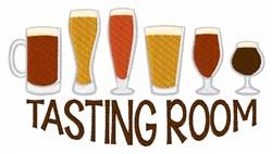 Beer Tasting Room embroidery design