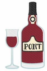 Port Wine embroidery design