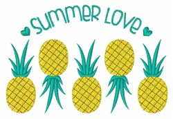 Summer Love embroidery design