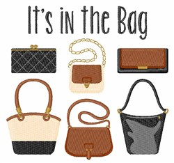 Its In The Bag embroidery design