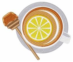 Honey Lemon Tea embroidery design