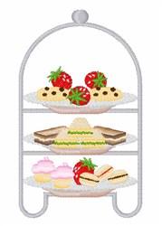 Tea Sandwiches embroidery design