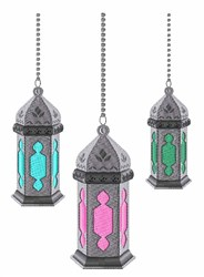 Moroccan Lanterns embroidery design