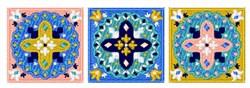 Mandalas Border embroidery design
