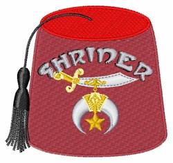 Shriner embroidery design