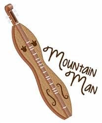 Mountain Man embroidery design