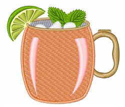 Moscow Mule   embroidery design