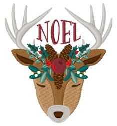 Noel Reindeer embroidery design