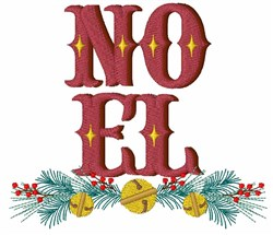 Noel Bells embroidery design