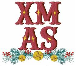 Xmas Bells embroidery design