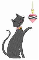 Ornament Cat embroidery design