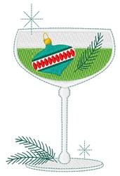 Ornament Cocktail embroidery design