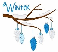 Winter Ornaments embroidery design