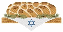 Challah Bread embroidery design