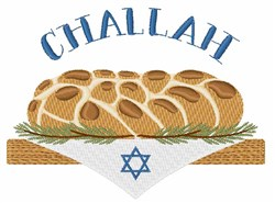 Holiday Challah embroidery design
