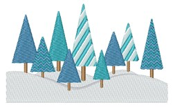 Winter Forest embroidery design
