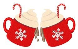 Winter Cocoa embroidery design