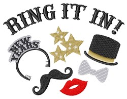 Ring It In embroidery design