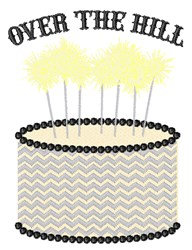 Over The Hill embroidery design