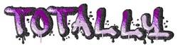Totally Graffiti embroidery design