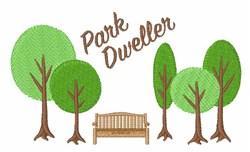 Park Dweller embroidery design