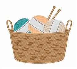 Yarn Basket embroidery design