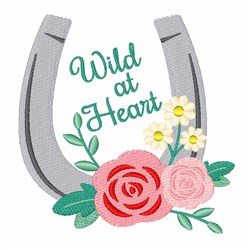 Wild Heart embroidery design
