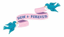 Now Forever embroidery design