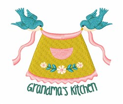 Grandmas Kitchen embroidery design