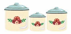 Kitchen Jars embroidery design