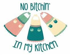 Bitchin Kitchen embroidery design
