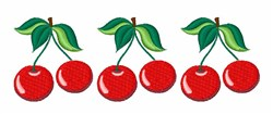 Cherries Border embroidery design