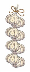 Garlic Rope embroidery design