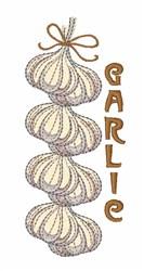 Garlic String embroidery design