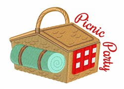 Picnic Party embroidery design