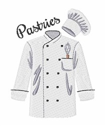 Pastries embroidery design