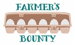 Farmers Bounty embroidery design