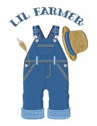 Lil Farmer embroidery design