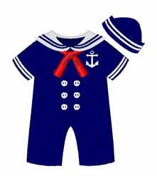 Sailor Jumper embroidery design