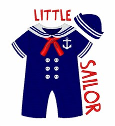 Little Sailor embroidery design