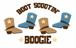 Scooting Boogie embroidery design