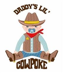 Daddys Cowpoke embroidery design