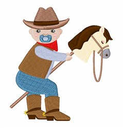 Cowboy Baby embroidery design