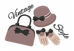 Vintage Style embroidery design