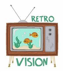 Retro Vision embroidery design
