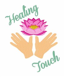 Healing Touch embroidery design