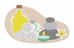 Relaxing Spa  embroidery design