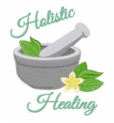 Holistic Healing embroidery design