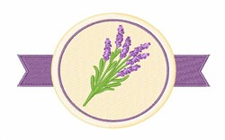 Lavender Flowers embroidery design