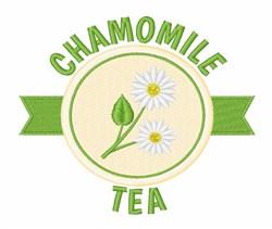 Chamomile Tea embroidery design